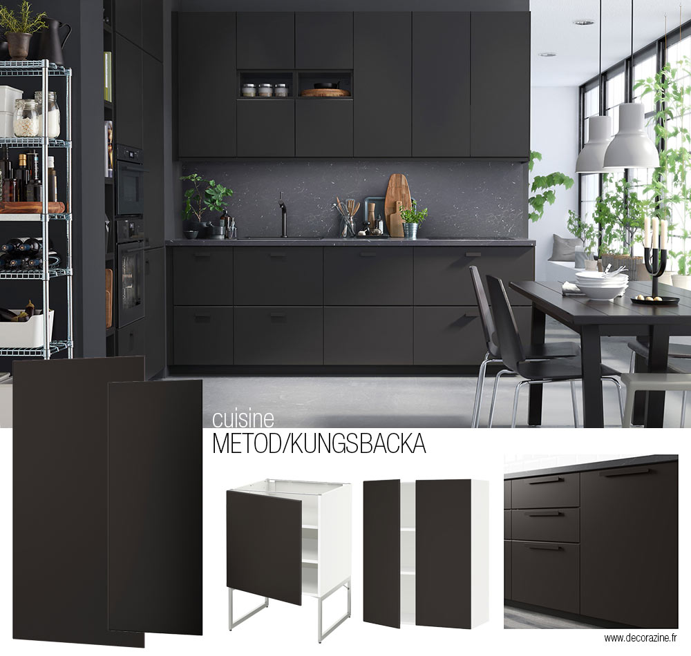 cuisines ikea guide des mod les du syst me metod. Black Bedroom Furniture Sets. Home Design Ideas