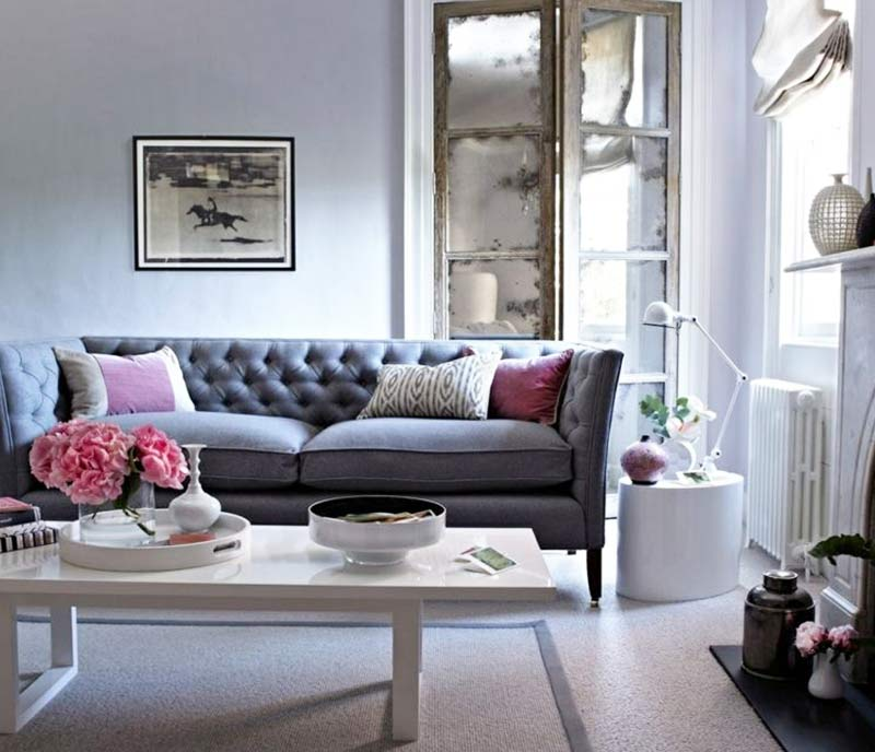 10 Idees Canape Gris Dans Un Salon Decorazine Fr