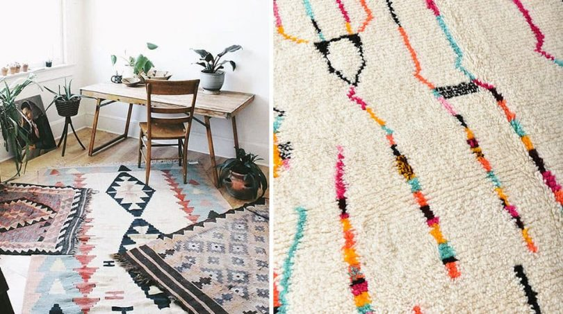 Tapis kilim - Guide shopping - Decorazine.fr