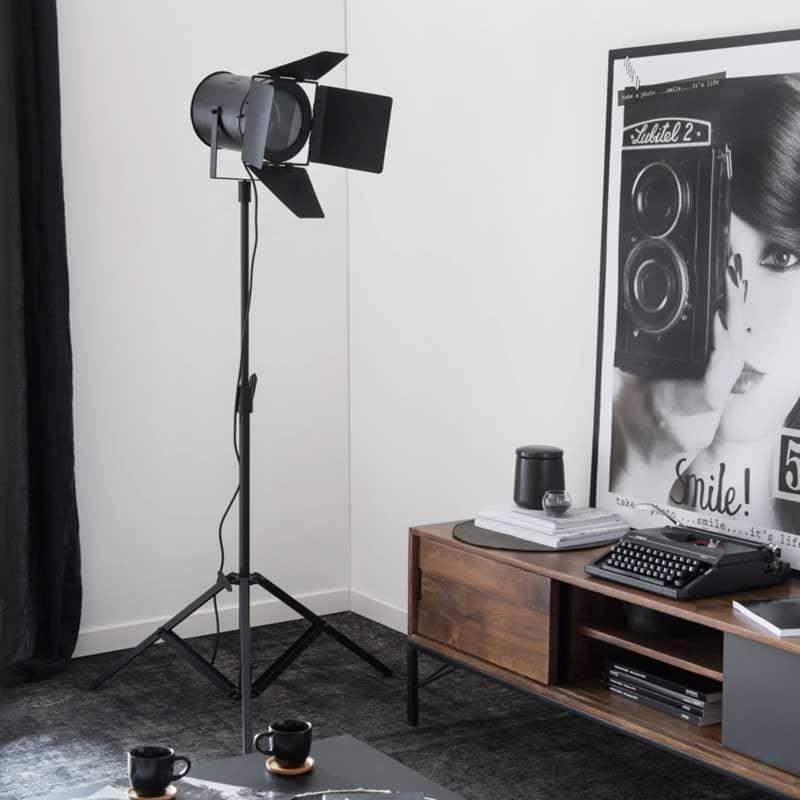 Lampadaire projecteur Making Of de Maisons du Monde - Decorazine.fr