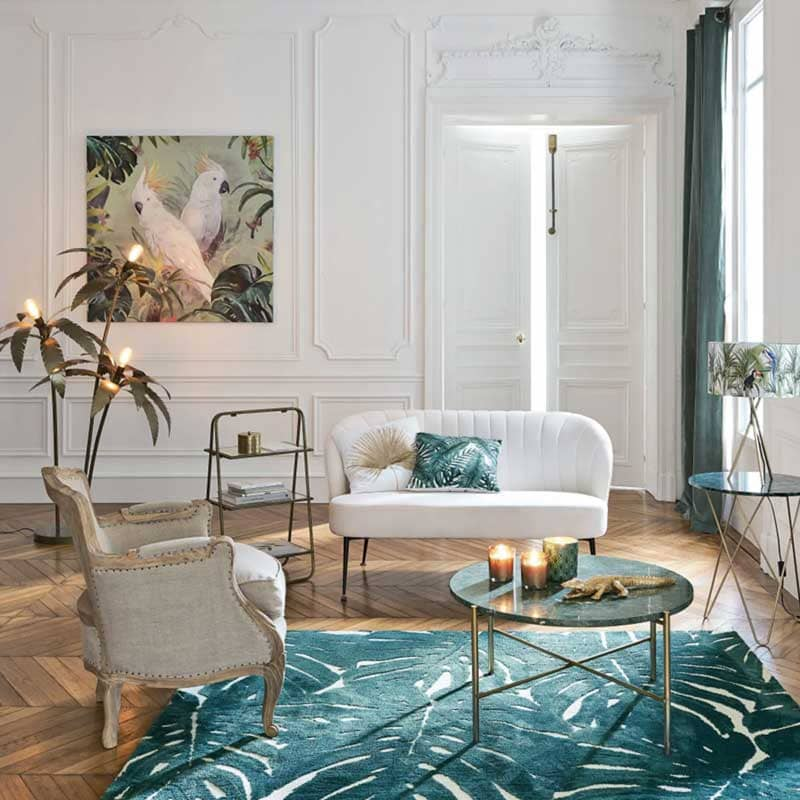 Lampadaire Palmier de Maisons du Monde - Decorazine.fr